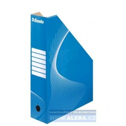 Zboží na objednávku - Archivní dokument box A4 Esselte 8cm zkosený 10025 modrý