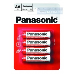Baterie tužková AA R6R/4ks Panasonic Special