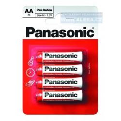 Baterie tužková AA R6R/4ks zinkouhlíková Panasonic Special