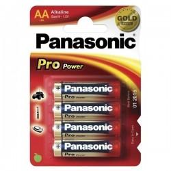Baterie tužková AA LR6PPG/4ks alkalická Panasonic Pro Power