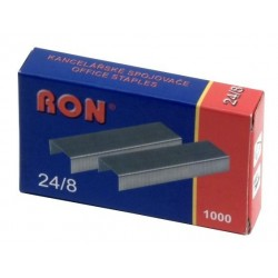 Spony do sešívačky 24/8 1000ks 484 Conmet RON