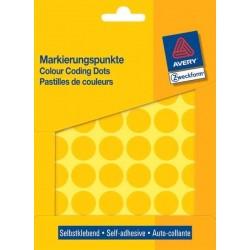 Etikety Avery Zweckform barevné kolečko 18mm 1056ks