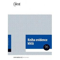 Tiskopis Kniha evidence klíčů A4, OPT 1243