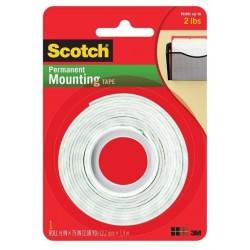 Páska lepicí oboustranná montážní 12.7mm x 1.9m 3M Scotch 110