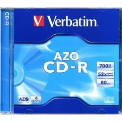 Disk CD-R 700MB/80min Verbatim DataLifePlus jewel / 1ks