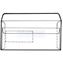.Obálka DL 50ks okno samolepicí bílá