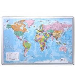 Zboží na objednávku - Podložka na stůl 60cm x 40cm mapa Svět