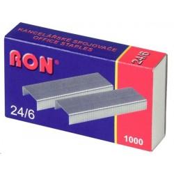 .Spony do sešívačky 24/6 1000ks 484 Conmet RON
