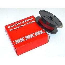 Páska strojová červeno-černá PA, 13mm, DIN