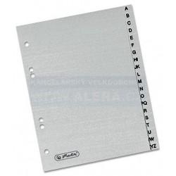 Rozřaďovač A5 A-Z plastový šedý