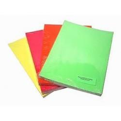 Papír plakát fluorescentní A4 90gr 1list