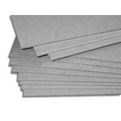 Papír lepenka 1mm 750x1080mm strojní šedá