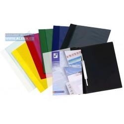 Zboží na objednávku - Rychlovazač PVC A4 tuhý přední kapsa 1ks
