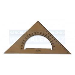 Pravítko trojúhelník 45/177 s úhloměrem kouřové Koh-i-noor 745640