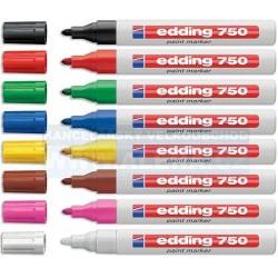 Popisovač Edding 750 2-4mm lakový