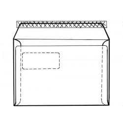 Obálka C5 1ks krycí páska okno vpravo vnitřní potisk ELCO