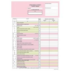 Tiskopis Výkaz zisku a ztráty v plném rozsahu A4 (1ks), OPT 1063