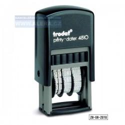Razítko TR4810 - datumovka - černá poduška