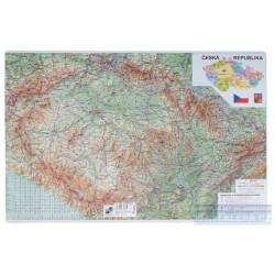 Zboží na objednávku - Podložka na stůl 60cm x 40cm mapa ČR