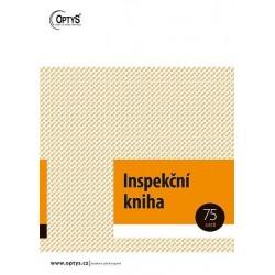 Tiskopis Inspekční kniha A4, 3x25 listů, OPT 1257