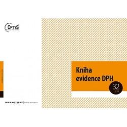 Tiskopis Kniha evidence DPH A4, OPT 1019