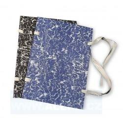 Desky spisové s tkanicí A3 knihařsky potažené mramor