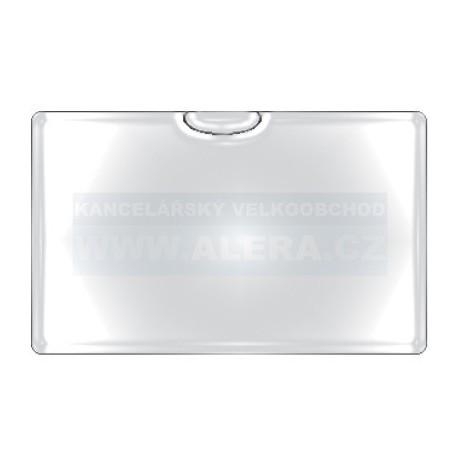 Obal PVC samolepicí kapsa na vizitku horní, 6ks