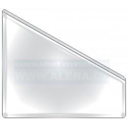 Obal PVC samolepicí kapsa šikmá A4 142x222mm střední, 6ks