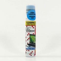 Čistič LOGO spray pěna na LCD 100ml + utěrka - UKONČENÁ VÝROBA