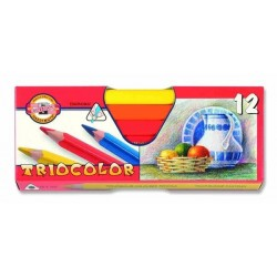 Zboží na objednávku - Pastelky 12ks trojhranné Koh-i-noor 3152 lakované silné