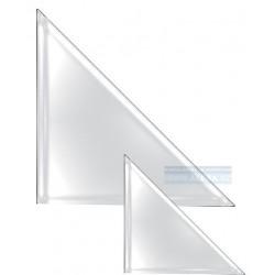 Zboží na objednávku - Obal PVC samolepicí růžek A4 220x220mm, 6ks