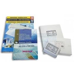 Laminovací kapsa A4 216x303/ 80 mic/100 ks/lepicí