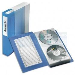 Zboží na objednávku - Box na CD/48ks - kniha modrá Esselte 67083