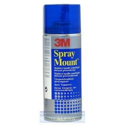 Lepidlo 3M Spraymount 400ml