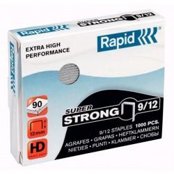 VÝPRODEJ - Spony do sešívačky 9/12 1000ks Rapid Super Strong