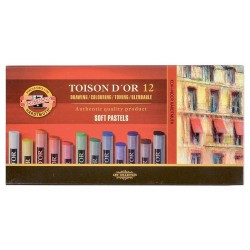 Křída Koh-i-noor 8512/12ks TOISON D'OR suchý pastel