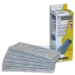 Houba DAHLE 95089 na bílé tabule náhradní filc 12ks