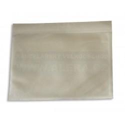 Obálka A6 kapsa nalepovací 1kus /transportní obálka na dokumenty/ [ POUZE PO 100 ks ]