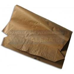 Pytel papírový 55cm x110cm 80gr dvouvrstvý hnědý [ POUZE PO 15-ti ks ]