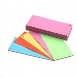 .Rozřaďovač přířez 2 otvory formát 24x10,5 100 listů mix barev