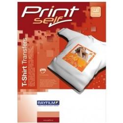 Tiskni R0205 1123J zažehlovací fólie na bílá a světlá trika 5listů inkjet