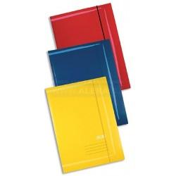 Mapa odkládací A3 3klopá karton guma Herlitz 00444315 /5ks barevný mix