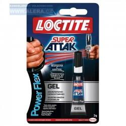 VÝPRODEJ - Lepidlo vteřinové - 3gr Loctite Super Attak Power gel