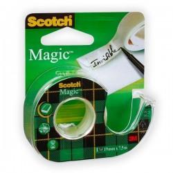 Páska lepicí 19x7,5m 3M Scotch Magic odvíječ /8-1975D/