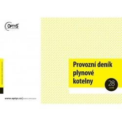 Tiskopis Provozní deník plynové kotelny, OPT 1241