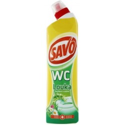 Savo WC 750ml - čistič - mix