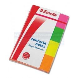 Lepicí bloček Esselte 83019 Contacta záložka 20x50mm