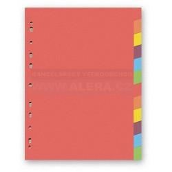 Rozřaďovač A4 2x6 listů barevný papír Hit Office