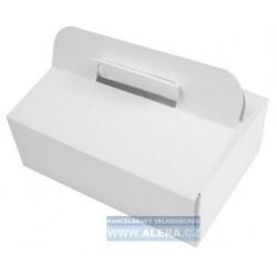 Zboží na objednávku - Krabice odnosová 23x16x7.5cm /50ks