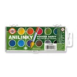 Barvy vodové Anilinky 22,5mm Koh-i-noor 174503